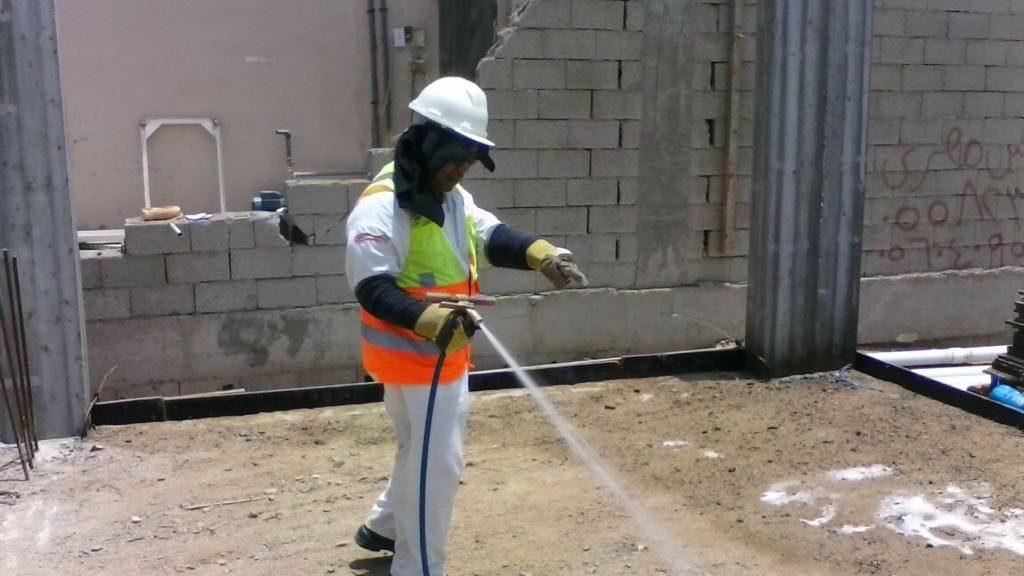 تأسيس أعمال السباكة للدور الأرضي ورش مكافح النمل الأبيض