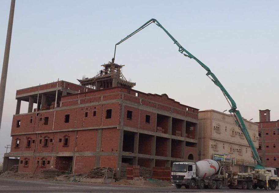 العمل على قدم وساق لاستكمال أعمال المباني